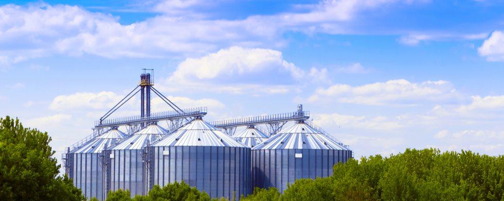Grain Bins in Kansas Roofing Specialized in Grain Bins